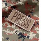 Parche / Emblema Rectangular Press (Prensa)