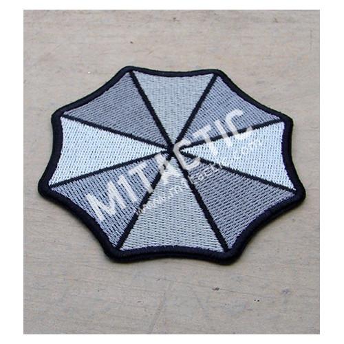 Parche / Emblema Resident Evil Umbrella Corporation (Gris)
