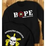 """BOPE - Tropa de Elite """"Operações especiais"""" Sweat-shirt"""