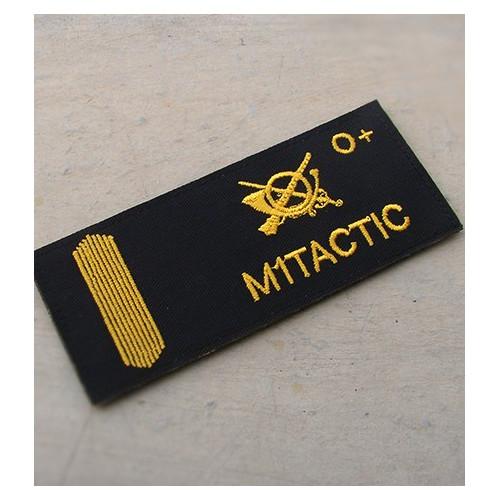 Galleta militar bordada (UME)