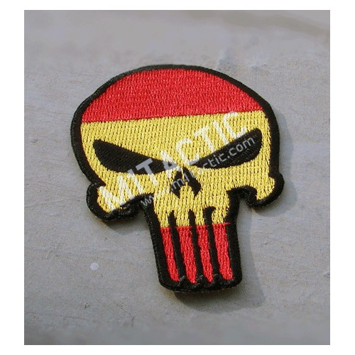Patch Punisher (Drapeau de l'Espagne)