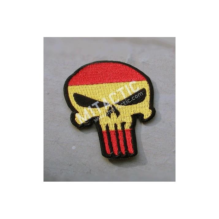 Patch Punisher (Drapeau de l'Espagne)