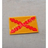 Embroidered Spain Tercios flag patch (Yellow)