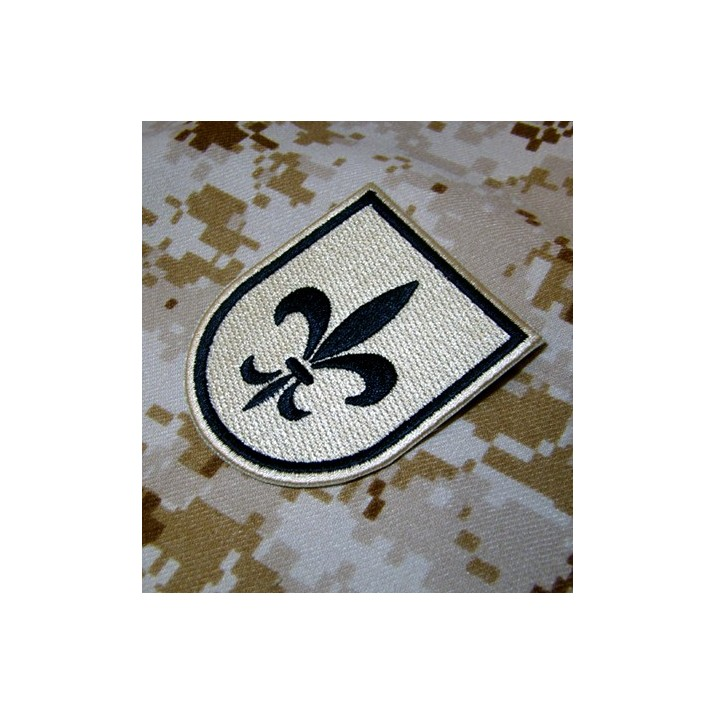 Emblema / Parche Ejército de Tierra Flor de Lis Árido TAN
