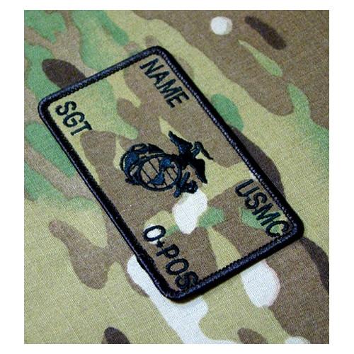 Personnalisés Multicam Marines Combat Id plaquées