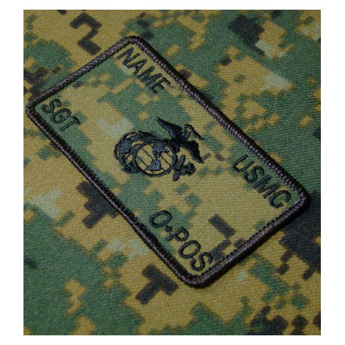 Custom Marpat USMC Combat Id patch