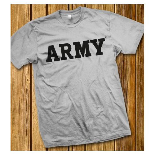 Camiseta gris ARMY - Ejército de los Estados Unidos