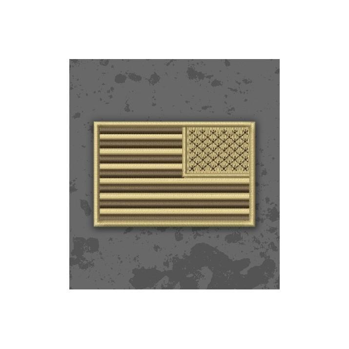 Bandera USA Árida/TAN Invertida