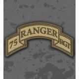 Parche 75th Ranger Regiment (Airborne) Árido/TAN