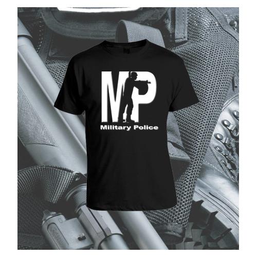 Camisetas Military Police Negra