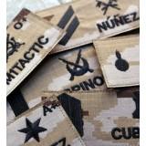 Galleta militar bordada del Ejército de Tierra (Árida Pixelada)