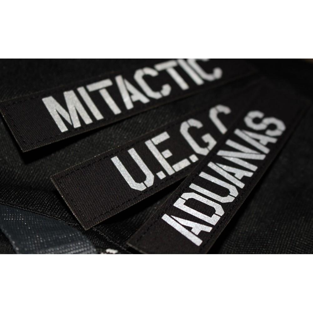 custom reflective name tape en 471 m1tactic. Black Bedroom Furniture Sets. Home Design Ideas