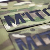 Parche de operador identificativo personalizado en Negro (SWAT)