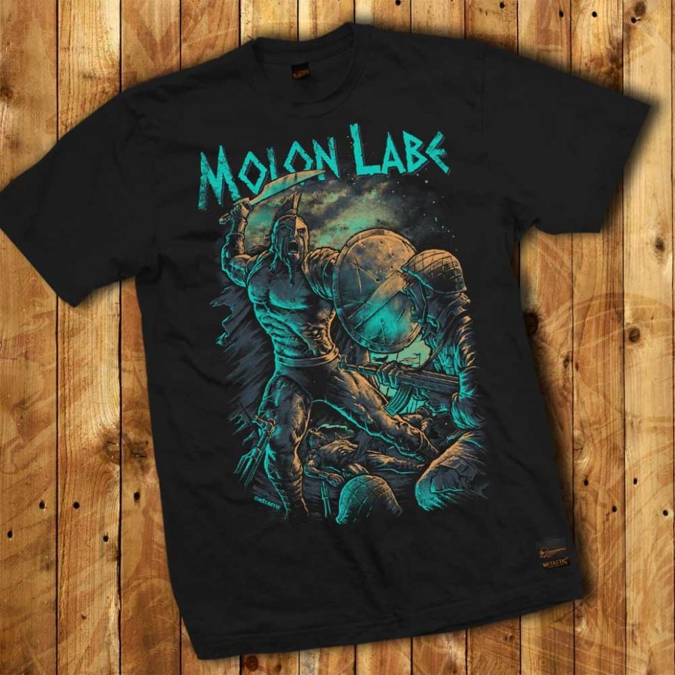 Camiseta Guerrero Espartano Molon Labe