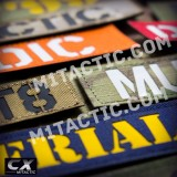 Custom CX Name Tape in over 10 camouflage patterns