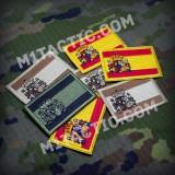 Parche / Bandera de España - Pequeña - Árida Tan