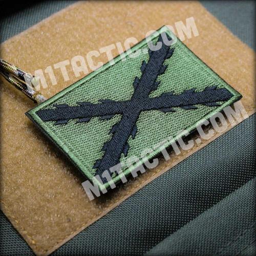 Parche / Bandera Tercios (Verde oliva)