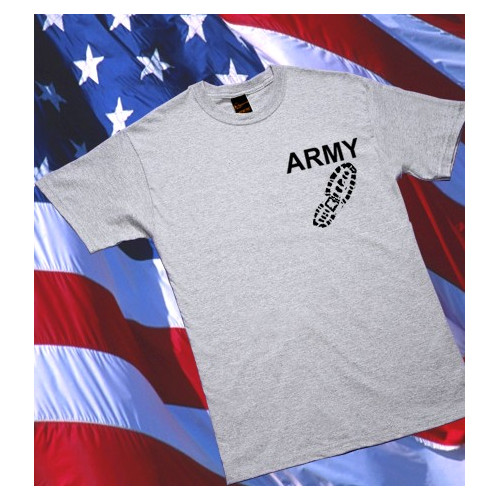 Camiseta ARMY Boot M1 Gris