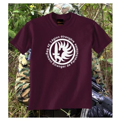 Camiseta Légion étrangère Parachutistes Burdeos