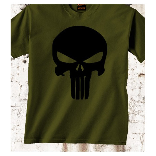 Camiseta Punisher Olive Drab