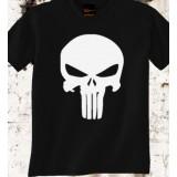 Camiseta Punisher Negra