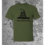 Camiseta Don't Tread On Me Olive Drab