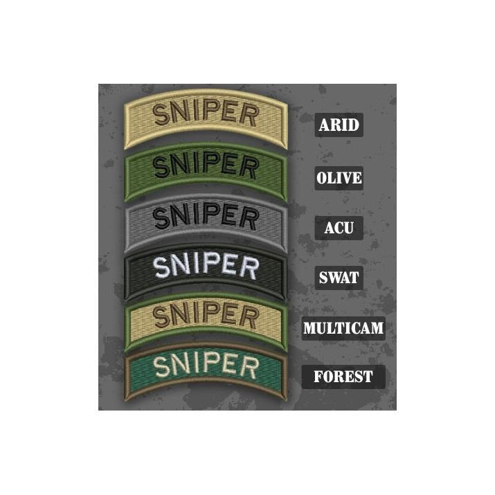 Parche / Ribo de brazo de Sniper en varias tonalidades