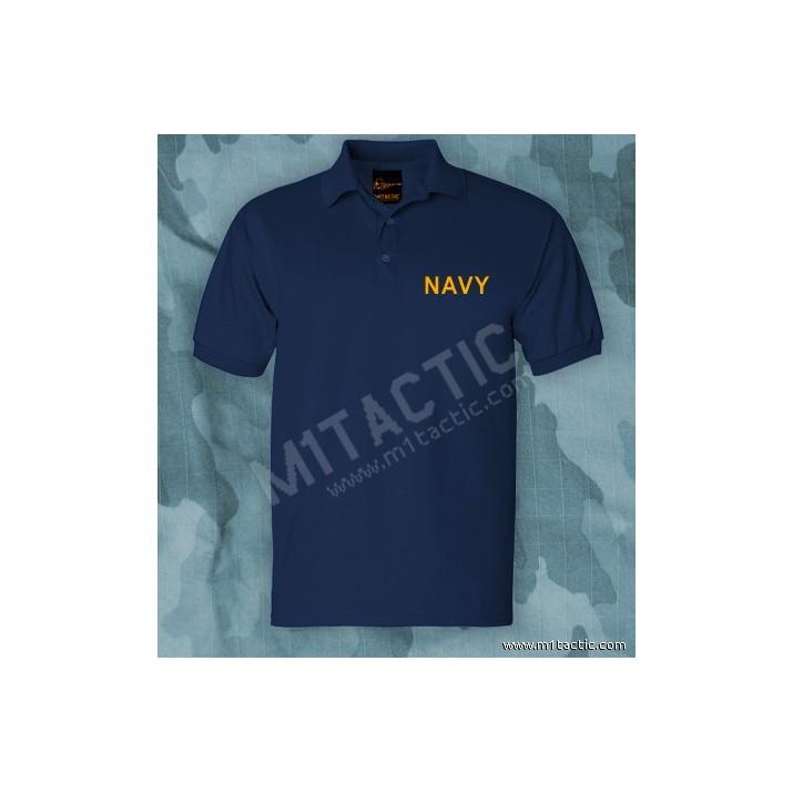 Polo Navy Azul