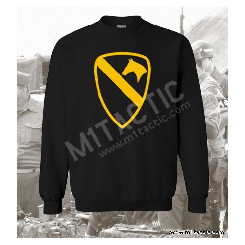 Sudadera 1st Cavalry Division Negra