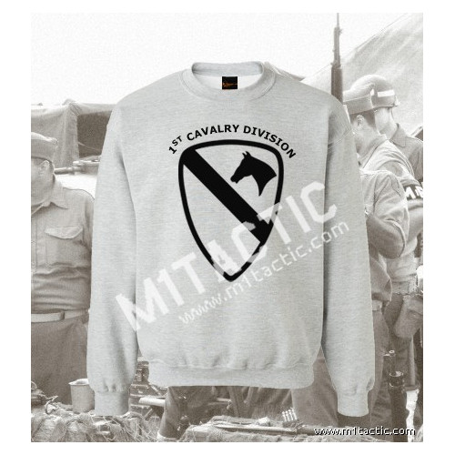 Sudadera 1st Cavalry Division Mod. 2 Gris