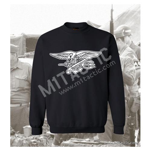 Sudadera Navy Seal Negra