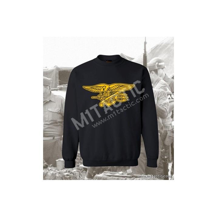 Sudadera Navy Seal Negra-Amarilla