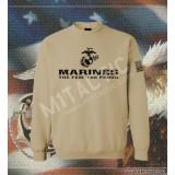 Sudadera Marines The Few. The Proud Árida