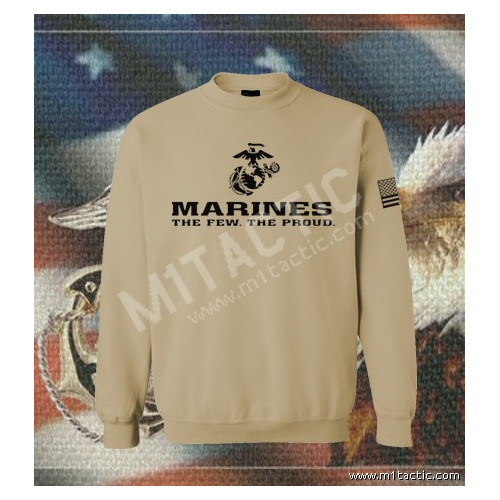 Sudadera Marines The Few. The Proud Árida