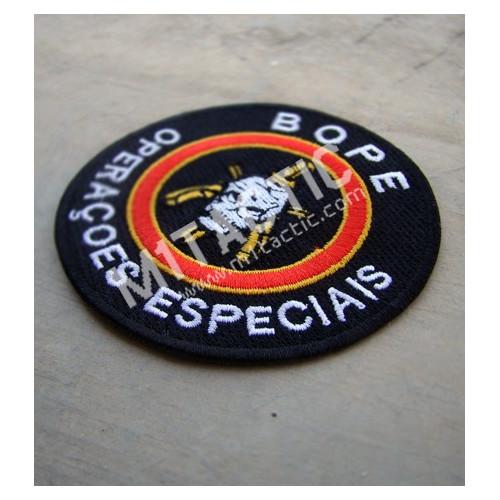 """Parche / Emblema BOPE - Tropa de Elite """"Operações especiais"""""""