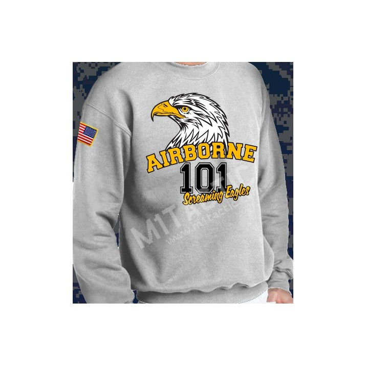 Sudadera 101 Airborne Screaming Eagles