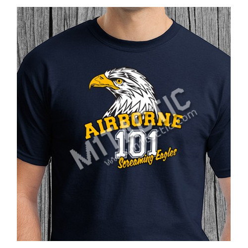Tshirt 101 Airborne Screaming Eagles