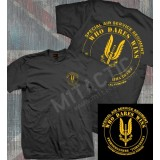 SAS (Special Air Service) Black T-Shirt