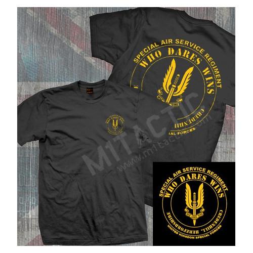 SAS (Special Air Service) Noir TShirt