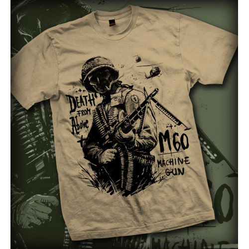 Tshirt M60 Death from Above