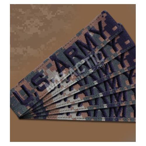 Custom Marpat (Woodland Digital) Name Tape