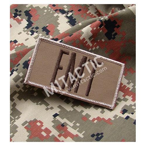 Parche / Emblema Rectangular EMT