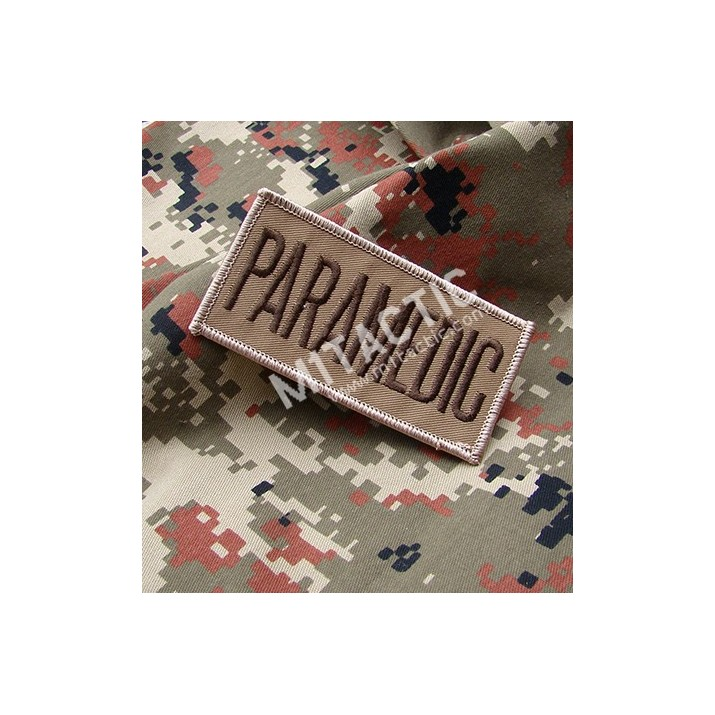 Parche / Emblema Rectangular Médico