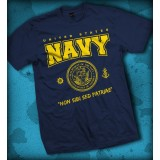 """Camiseta US Navy - """"Non Sibi Sed Patriae"""""""