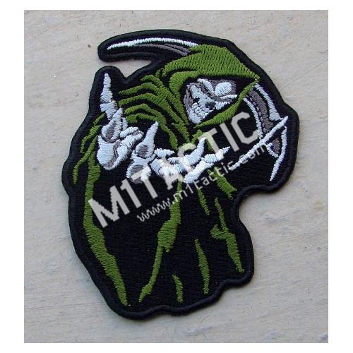 Patch Mort à capuchon (Vert)