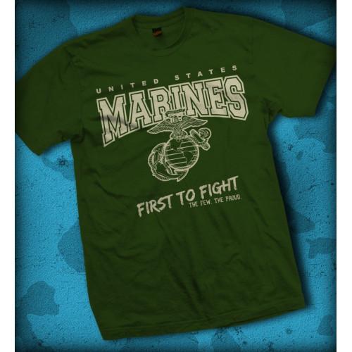 """Tshirt US Navy - """"Non Sibi Sed Patriae"""""""
