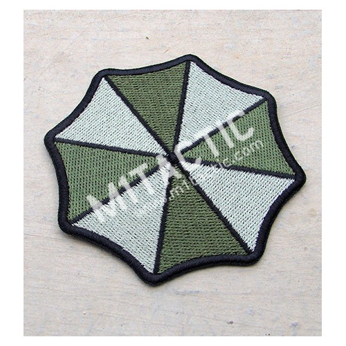 Parche / Emblema Resident Evil Umbrella Corporation (Olive Drab)