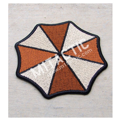 Parche / Emblema Resident Evil Umbrella Corporation (Árido - Tan)