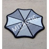 Parche / Emblema Resident Evil Umbrella Corporation (Gris)