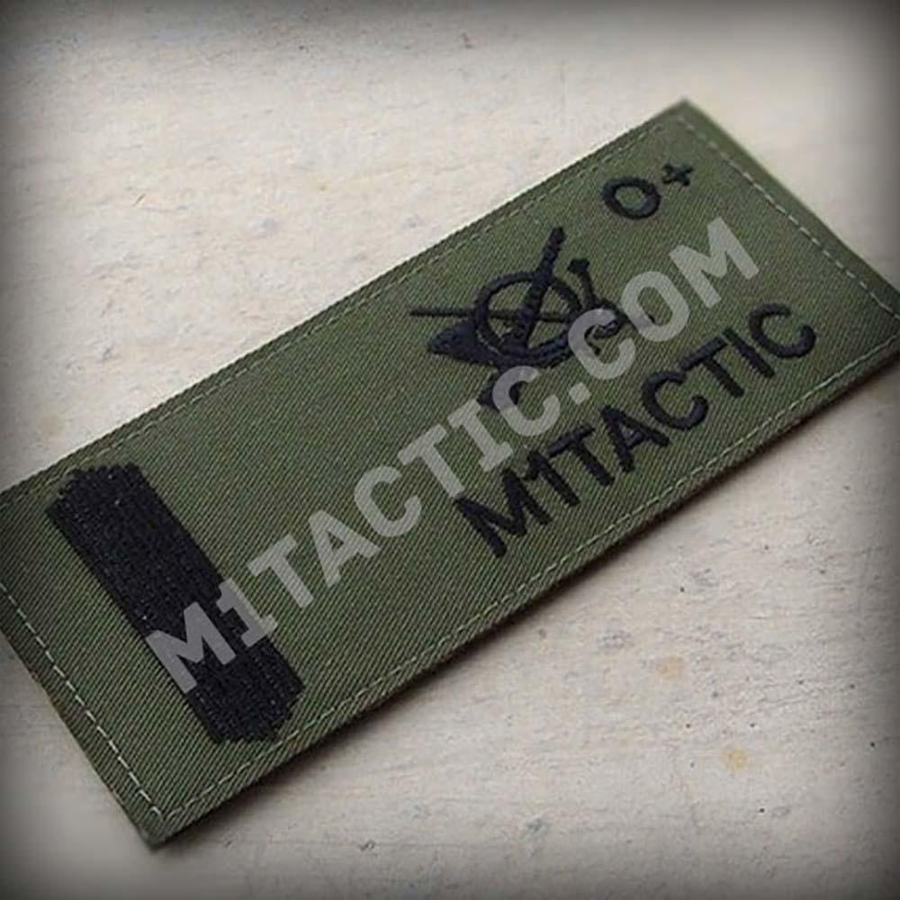 Galleta militar bordada del Ejército de Tierra (Verde-Olive Drab)